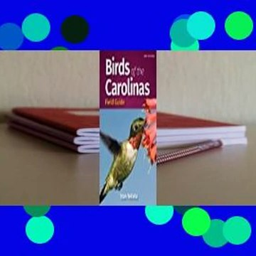 Full E-book  Birds of the Carolinas Field Guide Complete