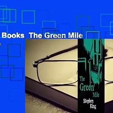 About For Books  The Green Mile  For Kindle