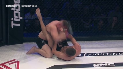 MOHAMED GRABINSKI (GERMANY) VS Aleksey Sotnikov (Ukraine)   MMA FIGHT FULL HD, FRANCE