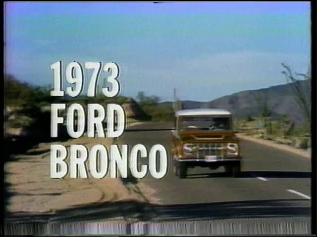 Ford Bronco : a breed apart (1966)