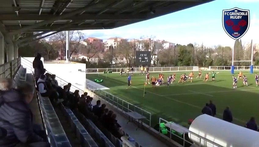 Rugby : Video - Montpellier - Espoirs FCG : le résumé vidéo