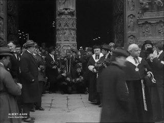 Cérémonie d'intronisation du Cardinal Dubois à Notre-Dame, Paris