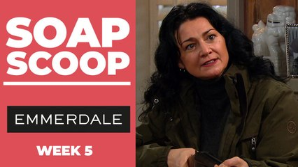 Emmerdale Soap Scoop! Moira seeks revenge