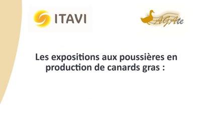 Exposition aux poussières en production de canard gras