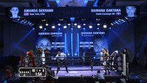 Amanda Serrano vs Dahiana Santana (16-12-2020) Full Fight