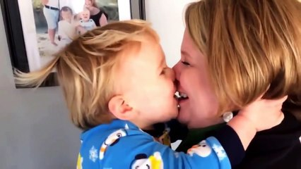 Babies Want to Kiss Mom Everytime - BEST Babies Video Compilation