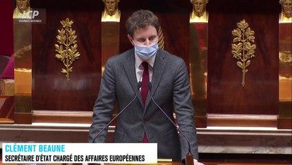 Clément Beaune sur le plan de relance européen