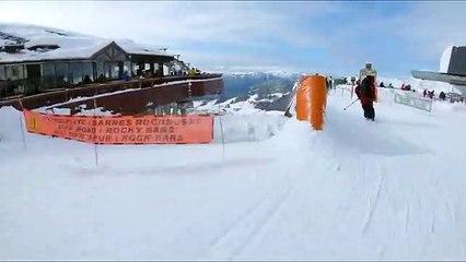 Un peu de ski avec Candide Thovex
