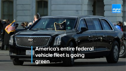 America's entire federal vehicle fleet is going green