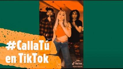 Danna Paola pegó su #CallaTú hasta en TikTok ¿Ya realizaste este trend?