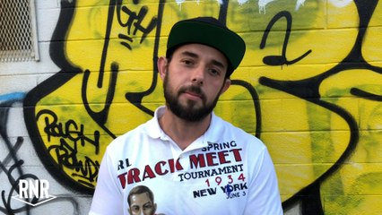 Graffiti Artist Calls Out Security Guard To Fight