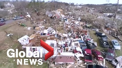 Cleanup underway after deadly tornado leaves path of destruction in Alabama