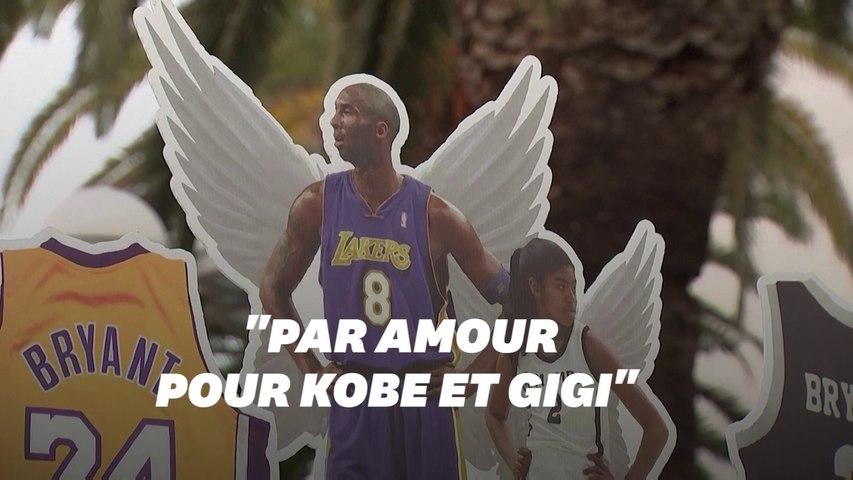 Un an après la mort de Kobe Bryant, ses fans se recueillent