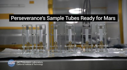 NASA's Perseverance Mars Rover Equipped with Ultra-Clean Sample Tubes