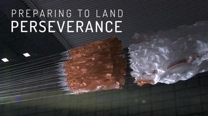 Preparing to Land Perseverance