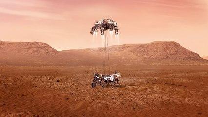 Perseverance Arrives at Mars: Feb. 18, 2021 (Mission Trailer)