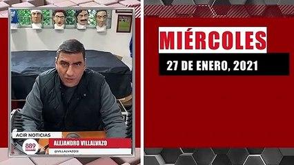 Resumen de noticias miércoles 27 de enero 2021 / Panorama Informativo / 88.9 Noticias
