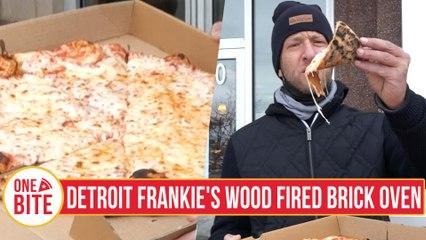 Barstool Pizza Review - Detroit Frankie's Wood Fired Brick Oven (Lansing, MI)