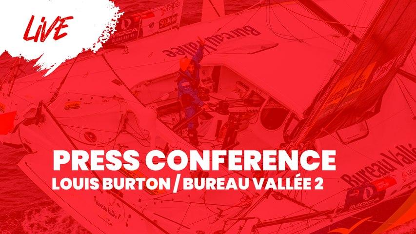 Press Conference Finish Louis Burton