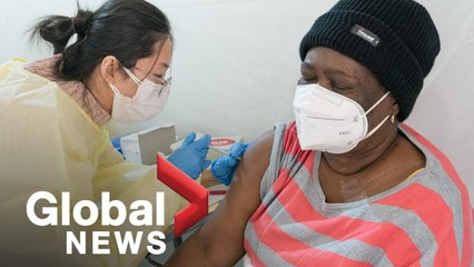 Coronavirus: US sees COVID-19 vaccine delays as variants spread quickly