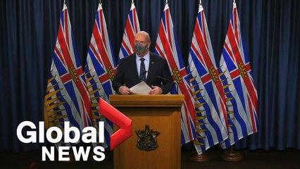Coronavirus: BC will not enforce 14 day quarantine for inter-provincial travellers: premier   FULL