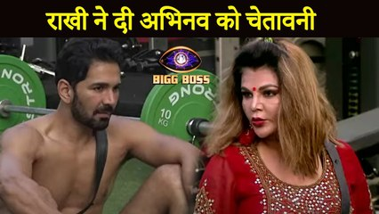 Bigg Boss 14 | Rakhi Sawant Warns Abhinav Shukla & Rubina Dilaik