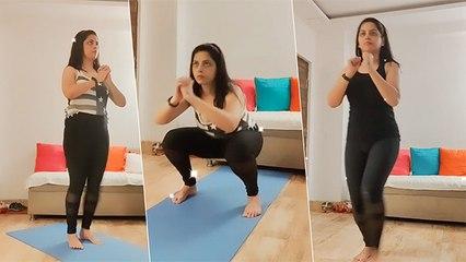 स्मिता शेवाळे सोबत इंटेन्स Workout सेशन