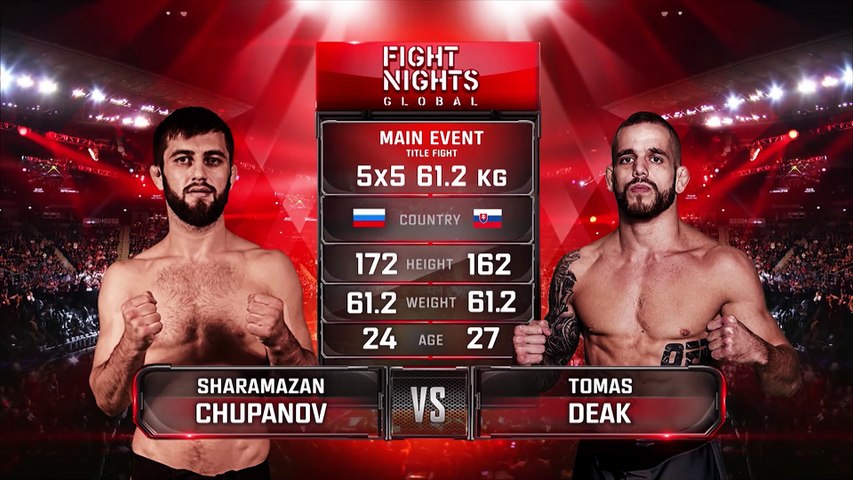 SHARAMAZAN CHUPANOV VS TOMAS DEAK | MMA FIGHT FULL HD