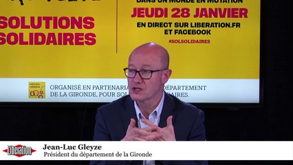 Forum Solutions Solidaires: Jean-Luc Gleyze