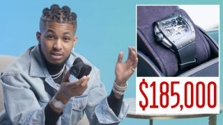 DDG Shows Off His Insane Jewelry Collection