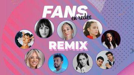 Fans en Redes Remix con Ángela Torres, Ruggero, MYA, Nati Jota, Leti Siciliani, Maia Reficco, Papry, Cande Vetrano y Caro Kopelioff.