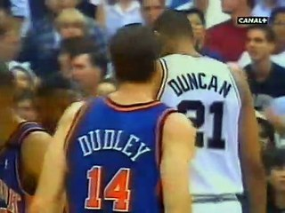 NBA Finals 1999 Game #1 -  New York Knicks @ San Antonio Spurs - 1.Quarter