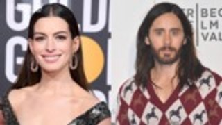 Anne Hathaway, Jared Leto Set to Star in Apple Limited Series 'WeCrashed' | THR News