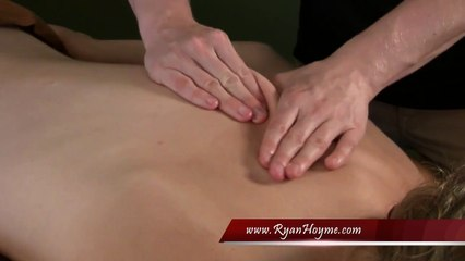 Great Back Massage Techniques - part 6 of 16