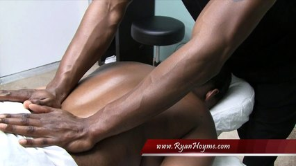 Great Back Massage Techniques - part 14 of 16
