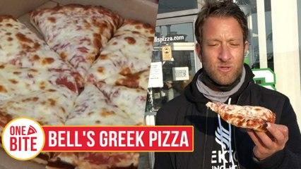 Barstool Pizza Review - Bell's Greek Pizza (East Lansing, MI)