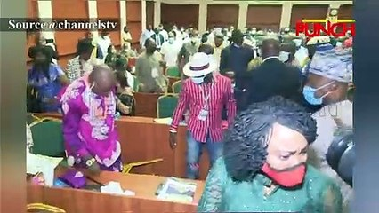 Host Communities Members Fight At Hearing Of Petroleum Industry Bill/Punch
