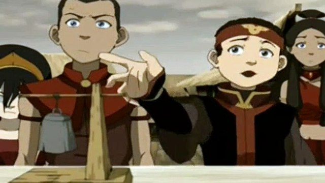 The Last Airbender Season 3 Episode 3 The Painted Lady