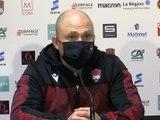 """Pierre Mignoni après la défaite contre Pau : """"J'espère que eux sont en colère"""""""