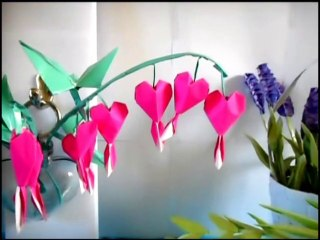 Origami Bleeding Hearts