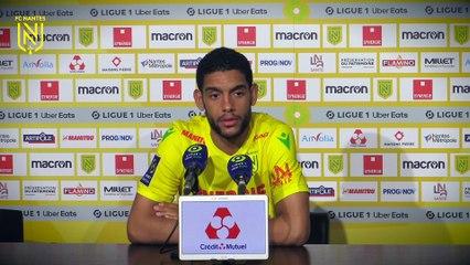 Jean-Charles Castelletto après FC Nantes - AS Monaco