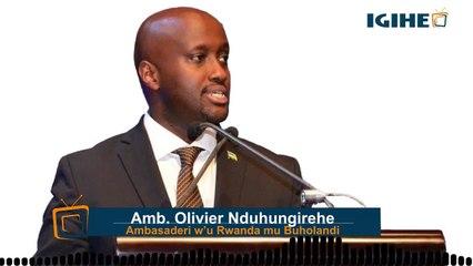 Ijambo ry a Amb. Nduhungirehe uhagarariye u Rwanda mu Buholandi mu Nama ya mbere y'abagize RCA-NL
