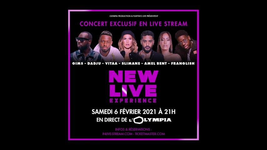 RDV le 6 février 2021 ! - NEW LIVE EXPERIENCE