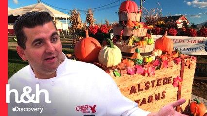 ¡Buddy celebra la llegada del otoño con grandioso pastel de calabaza! | Cake Boss | Discovery H&H