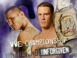 John Cena vs Randy Orton story before Unforgiven 2007
