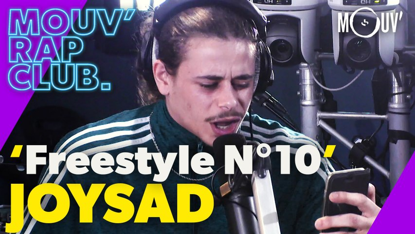 """JOYSAD : """"Freestyle N°10"""" de Booba (Live @Mouv' Rap Club)"""