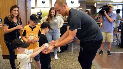 Cancer Survivor Jameson Taillon Brings Hope To Kids