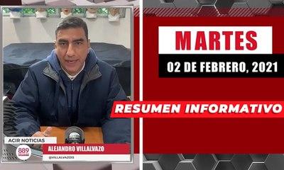 Resumen de noticias martes 2 de febrero 2021 / Panorama Informativo / 88.9 Noticias
