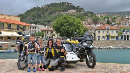 Bike-Tour in Greece with Kids