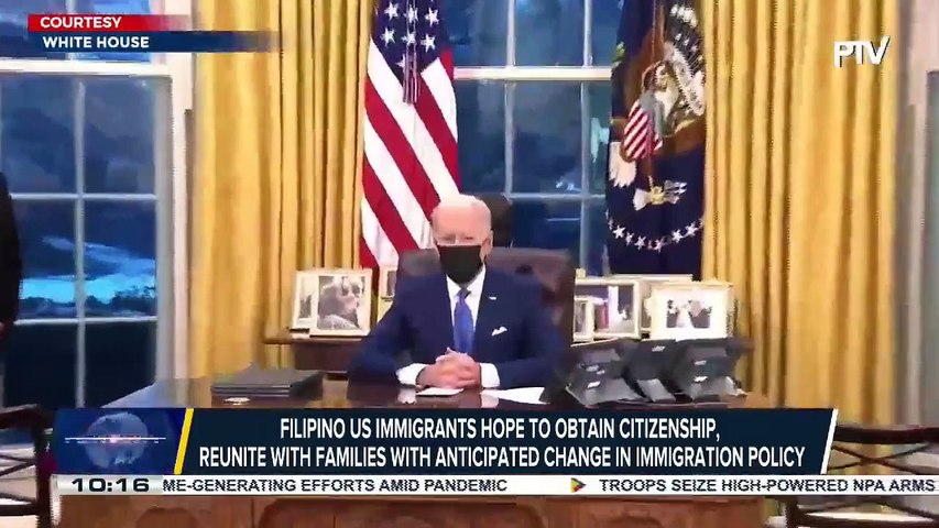 Filipino US immigrants hope to obtain citizenship, reunite with families with anticipated change in immigration policy